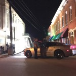 Filming in Oldtown Conyers