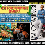 FREE BOOK PUBLISHING SEMINAR – TODAY 3p Courtyard Marriot Conyers